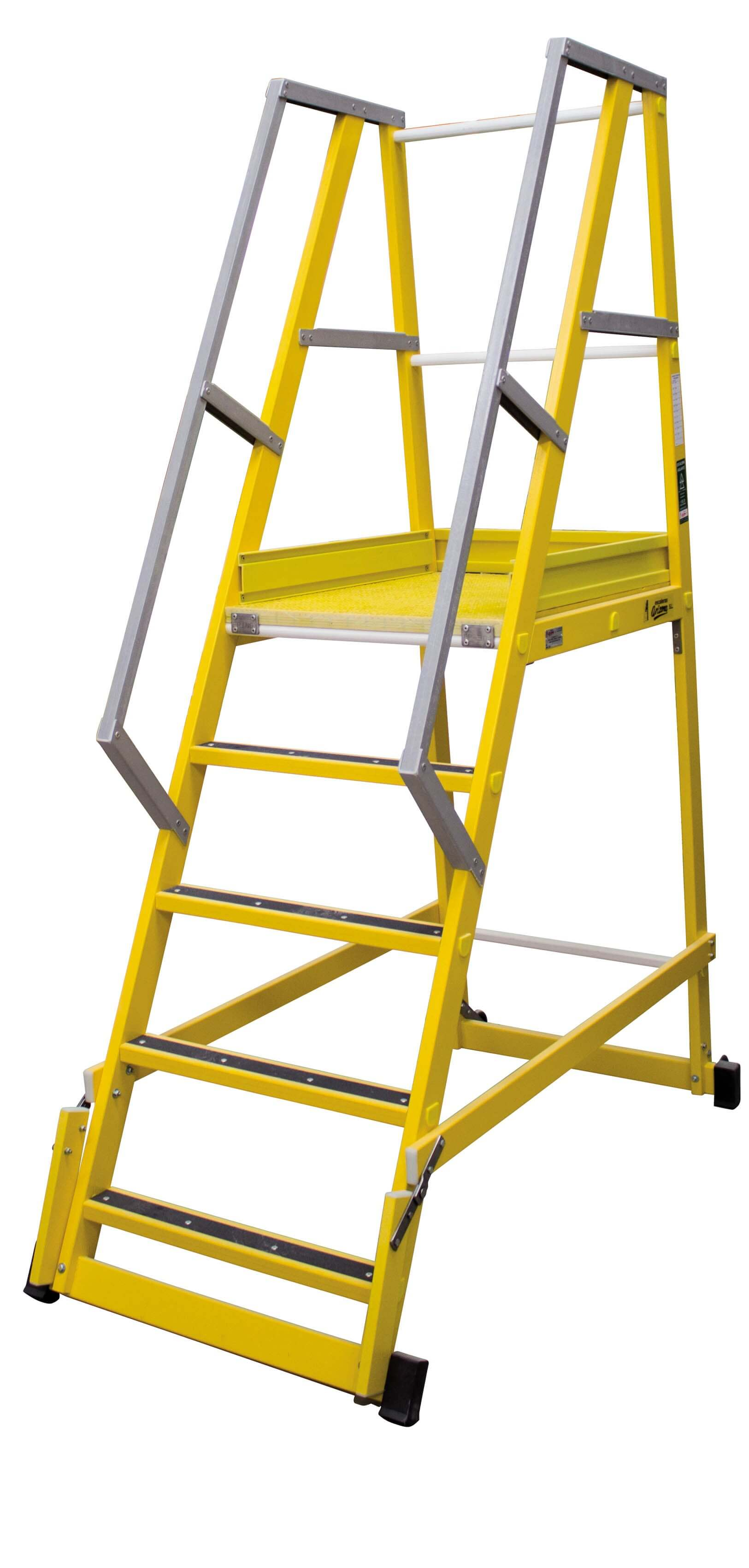 Escalera De Fibra De Almacén 65º