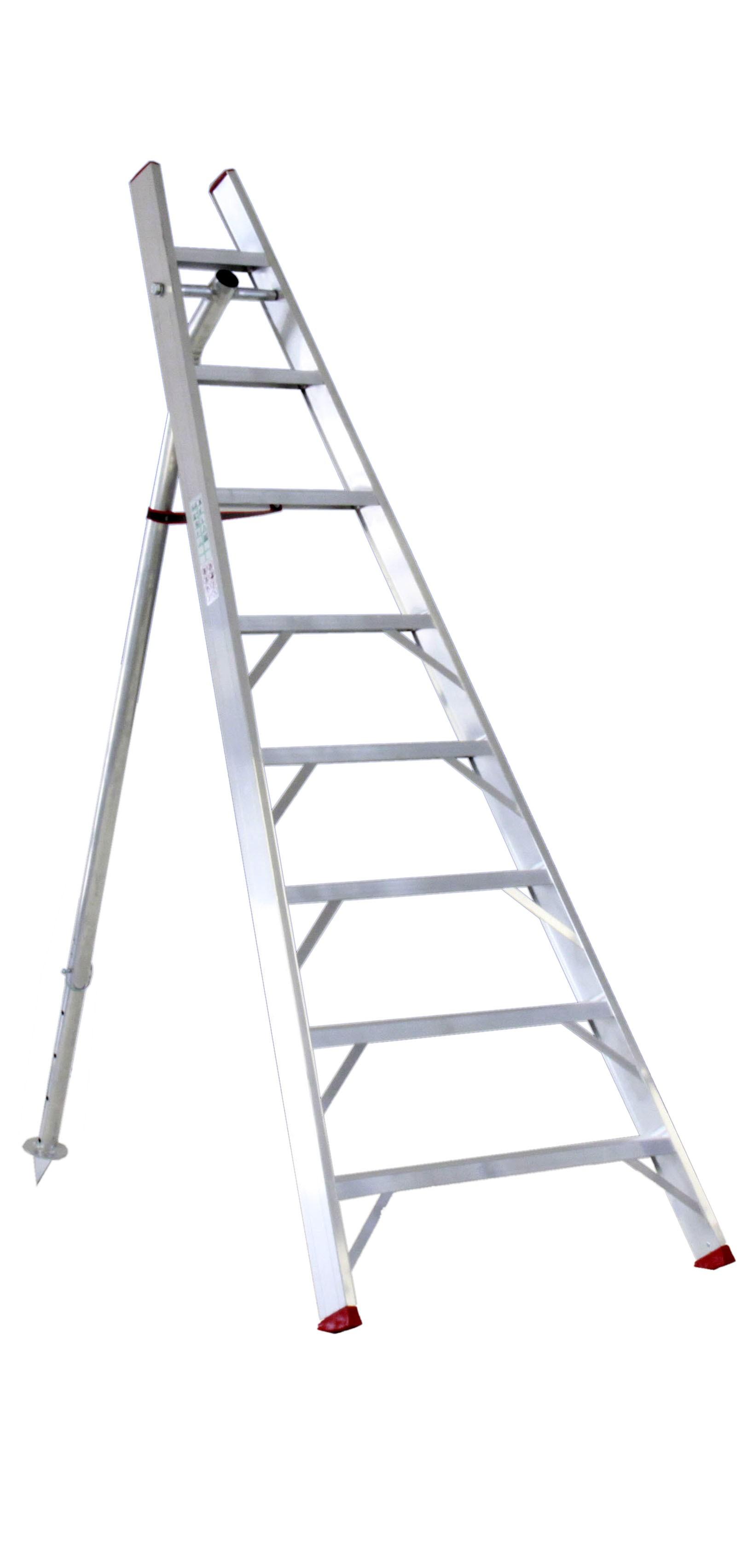 Escalera Agrícola De Aluminio