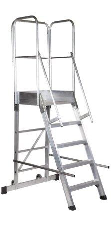Escalera de almac n de aluminio escaleras arizona for Escalera de aluminio extensible 9 metros