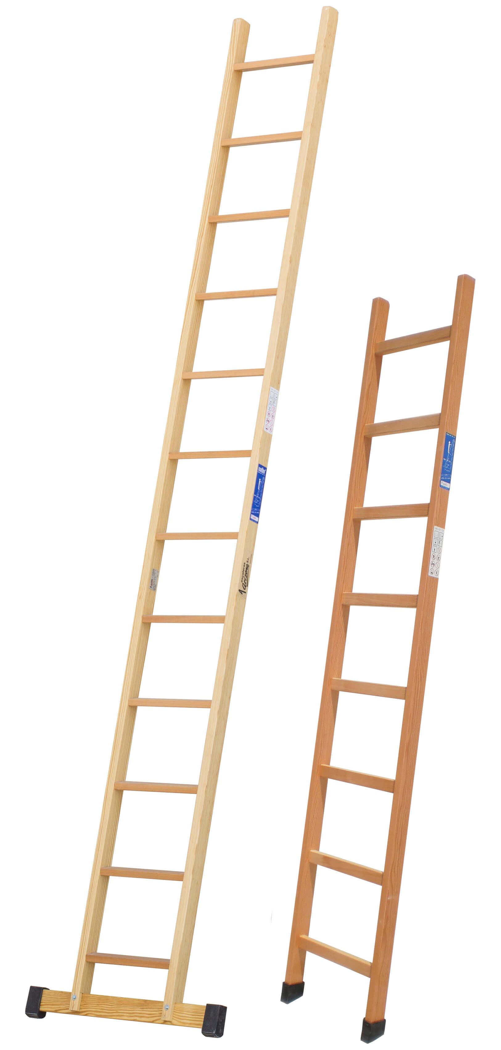Escalera de madera de 1 tramo escaleras arizona - Escaleras de madera ...