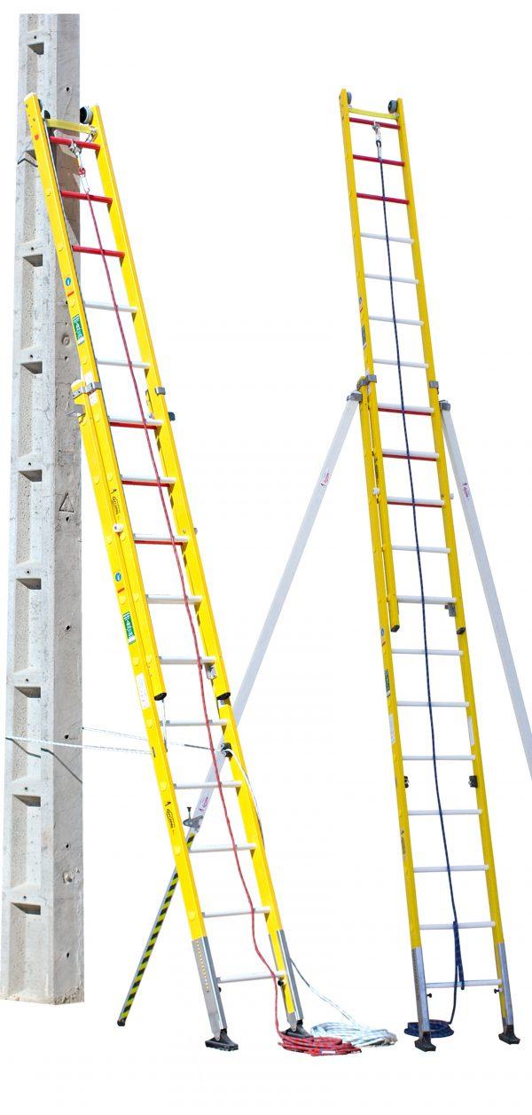escalera de seguridad para fachadas