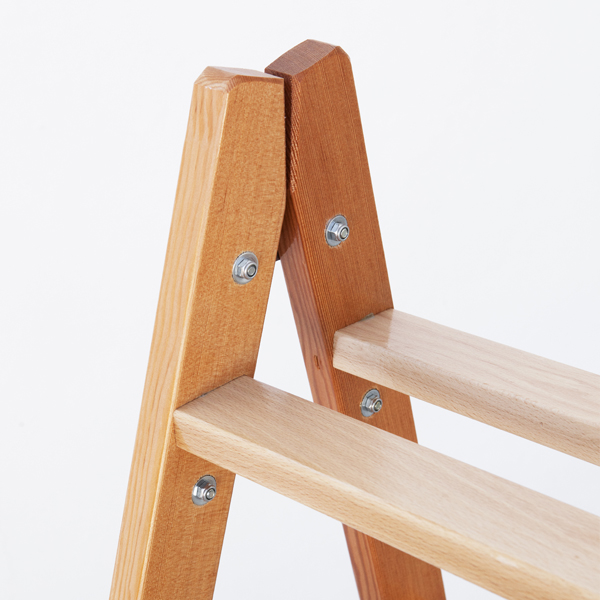 Escalera de madera de tijera escaleras arizona - Peldanos de madera para escalera ...