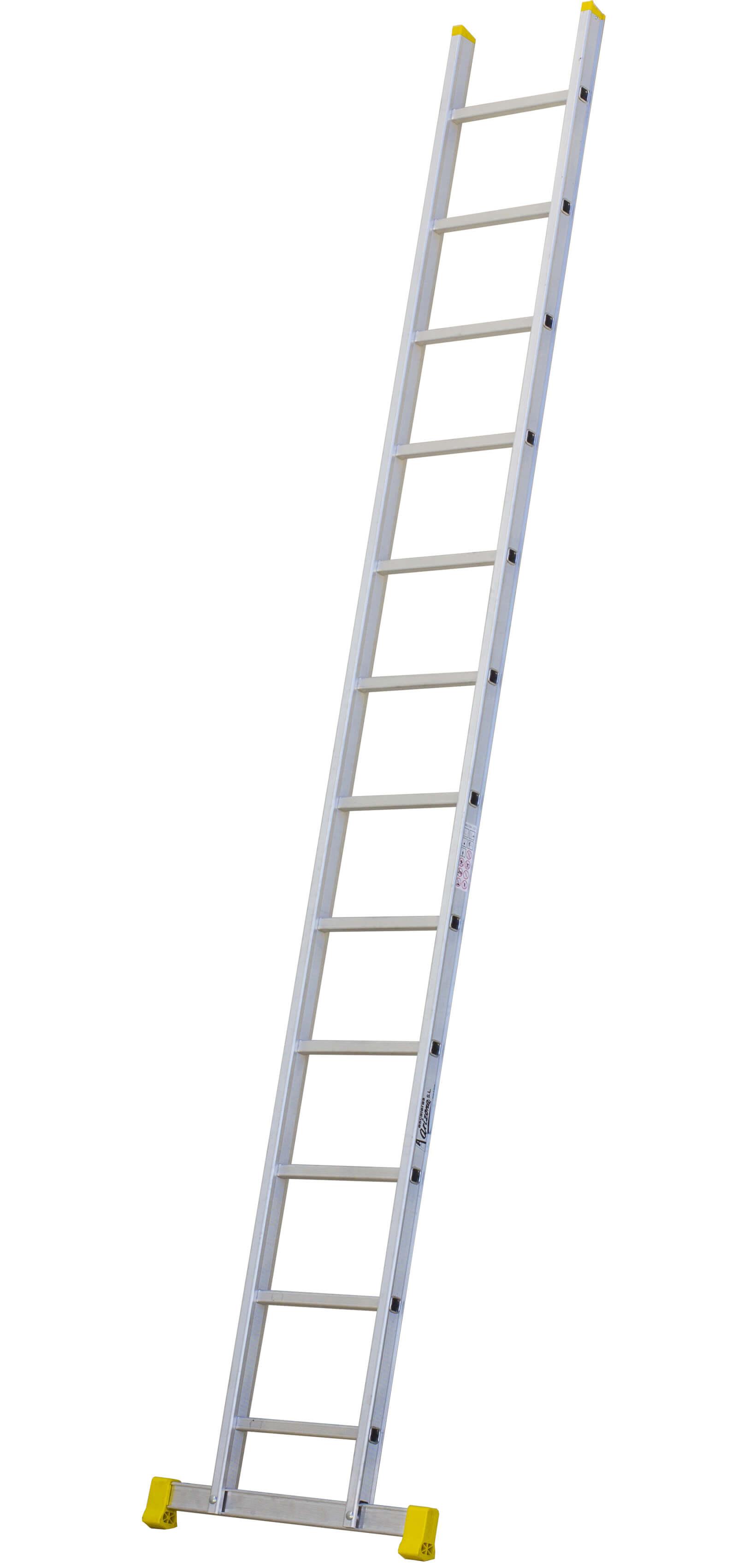 Escalera de aluminio de un tramo escaleras arizona for Escalera de aluminio extensible 9 metros