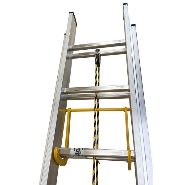 Escalera de aluminio extensible a cuerda para uso en - Escalera de cuerda ...