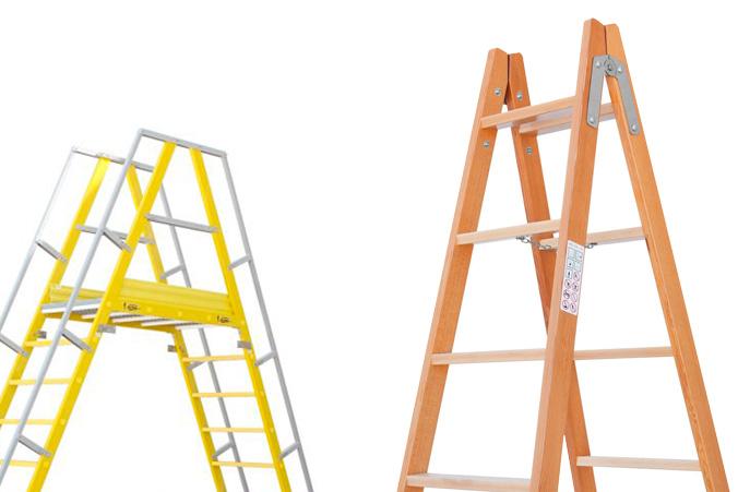 Tipos de escaleras industriales descubre nuestros modelos for Escaleras de trabajo