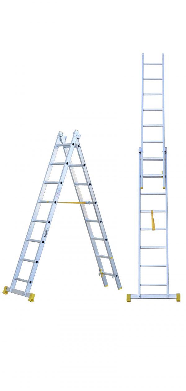 evitar accidentes de trabajo con escaleras