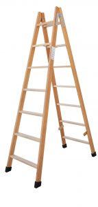 escaleras de madera de pintor