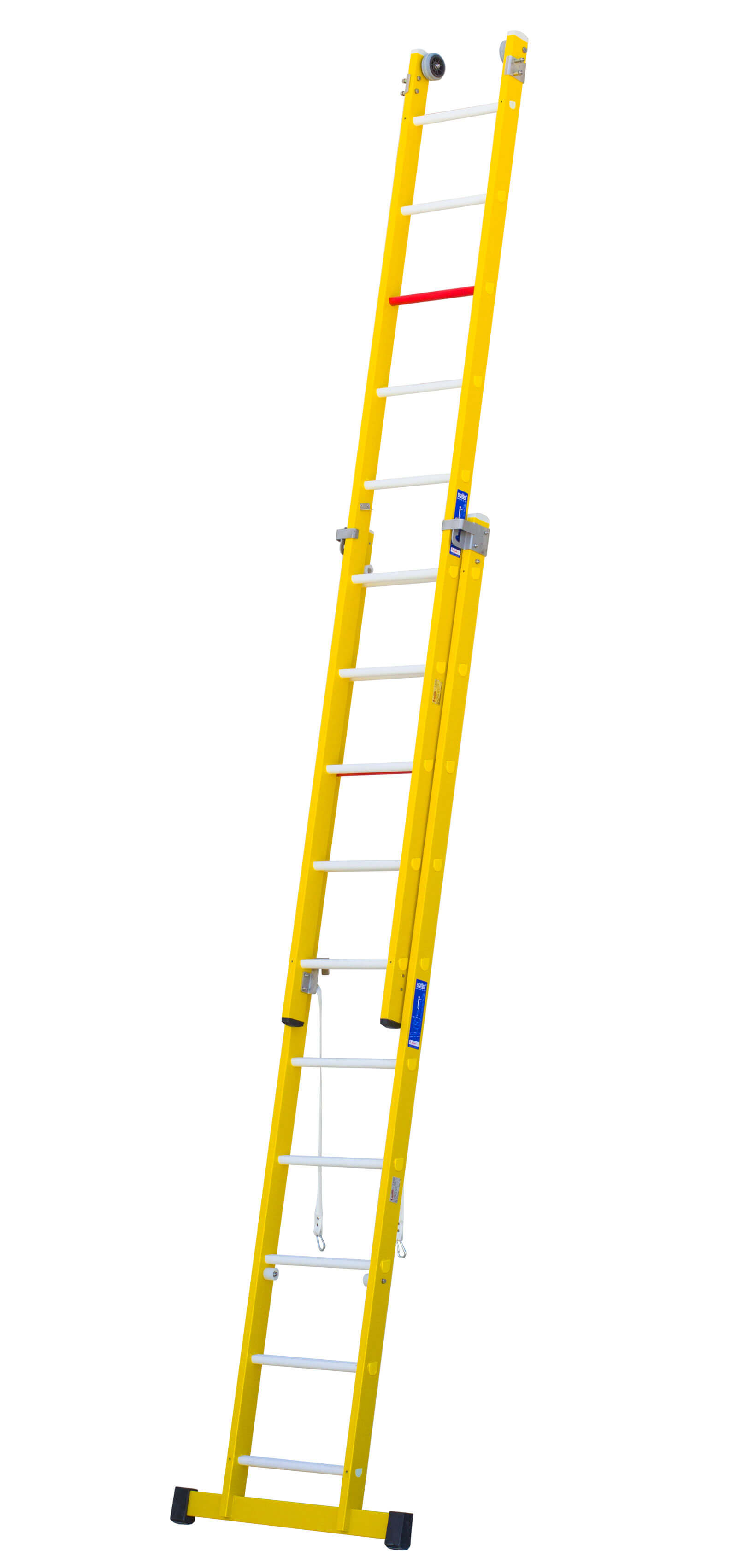 Escalera De Fibra Combinada