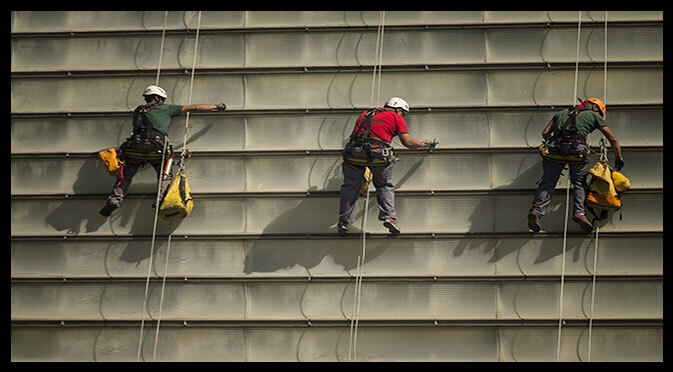 riesgos del trabajo en altura